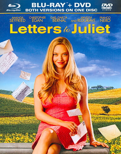 LETTERS TO JULIET BY SEYFRIED,AMANDA (DVD / Blu-Ray (combo))